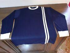 MAGLIA SHIRT VINTAGE '70 '80 CALCIO FOOTBALL BLUE WHITE BIANCO BLU N°14. LANETTA