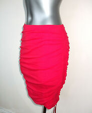 Wolford Crazy Tulle Gonna, Lava Rosso, Piccolo, UK 10, USA 6, Nuovo in Scatola