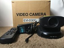 Sony EVI-D30 C Camera With Remote & Power Supply