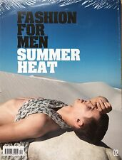 Fashion for Men Magazine Issue #2 SUMMER HEAT SEALED