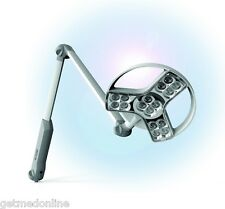 NEW ! Derungs VISIANO Articulating Arm LED Exam Light, Rail Mount, D15461150