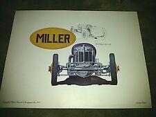 1929 Miller Special~ Steve Biesiada~Rare Lithograph~Art~Original Art