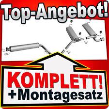Auspuff Endschalldämpfer hinten für Opel Astra J Kombi Caravan 1,6 Turbo 132 KW