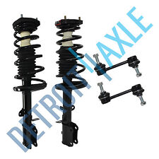for Toyota Corolla Chevy GEO Prizm (2) Rear Strut Coil Spring and Sway Bar Link