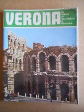 Guida Turistica di Verona città di Romeo e Giulietta Vintage 1982  [D22]