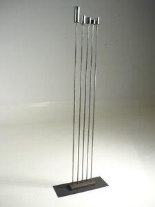 Mid Century Modern/Bertoia Inspired Artist Made Abstract Metal Sound Sculpture