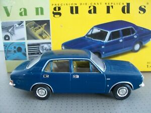 Vanguards Morris Marina Teal Blue First issue