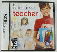 Imagine Teacher (Nintendo DS Game) - Complete Tested Sim 3DS DS 2DS DSi XL