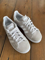 Boys adidas Trainers Size 12 UK Campus Grey Suede Low Top RRP £69.00
