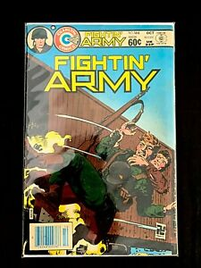 FIGHTIN' ARMY #166 CHARLTON COMICS 1983 FN/VF