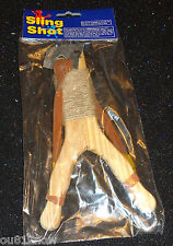 Party Favors Loot Gifts Wooden Sling Shot