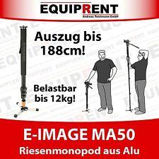 E-Image ma50 188cm monopie/monopode para cámaras de hasta 12kg (eq655)