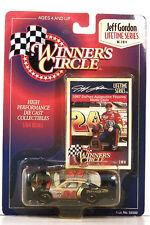 HASBRO ~ WINNER'S CIRCLE ~ JEFF GORDON ~ #24 DUPONT CHROMA PREMIER ~ 1/64