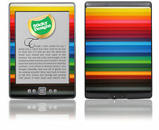 Amazon Kindle 4 EBOOK READER-Matite colorate SKIN ADESIVO COVER