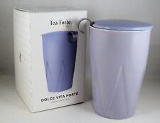 """TEA FOR ME"" Forte ' KATI taza LILA DULCE VITA térmica té doble pared cerámica"