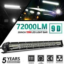 Ultra-thin 20inch 720W Led Light Bar Spot Flood Combo Work UTE Truck SUV ATV 21""