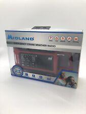 Midland ER210 E+Ready Compact Emergency Crank Weather Radio NOAA Ready