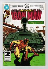 FRENCH COMIC FRANÇAIS EDITION HERITAGE  IRON MAN   #  109 /  110