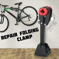 Wall Mount Bike Bicycle Clamp Repair Stand Maintenance Folding Clamp Storage UK