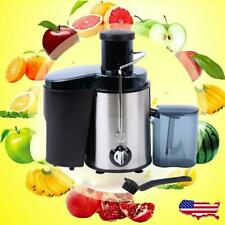 New 800W Electric Fruit Vegetable Juicer Extractor Juice Maker Machine Black