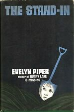 """The Stand-In"" by Evelyn Piper (1970) Hardcover w/DJ - Book Club Edition"