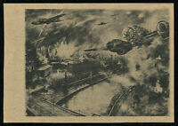 1940 Germany 3rd Reich WWII Postcard Cover Hitler Army Soldier Feldpost Blitz