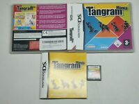 Tangram Mania Nintendo DS Game Complete With The Manual Tested Working (PAL UK)