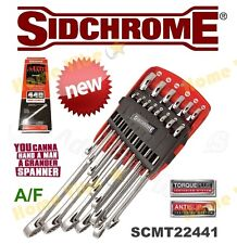 NEW SIDCHROME 440 PRO 14-PC COMBINATION SPANNER SET IMPERIAL (A/F) 22441 RRP$249