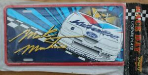 MARK MARTIN VALVOLINE #6 LICENSE PLATE