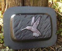 "Rain brick hummingbird concrete plaster mold 9"" x 6"" x 2"" 1/8th"" plastic"