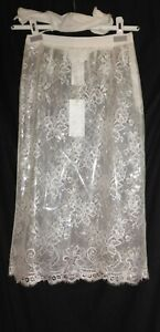 MAISON MARGIELA (DEFILE) RUNWAY LADIES LACE SKIRT - SIZE UK 10 ITALY 42