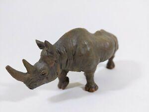 Papo Rhino Figure 2008 |  Size 6 inches | High Quality Rhinoceros 🦏
