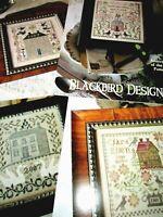 CS264, Blackbird Designs, cross stitch charts, YOUR CHOICE, NEW,
