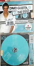 DAVID GUETTA VG. THE EGG LOVE DON'T LET ME GO WALKING  AWAY CD SEALED SINGLE