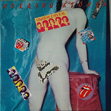 The ROLLING STONES - Undercover 1983 LP W/7 stickers