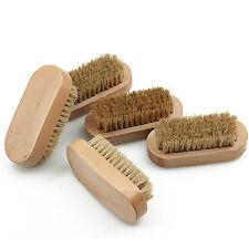 Best Natural Boar Bristle Beard Men's Mustache Brush Military Wood Handle Comb