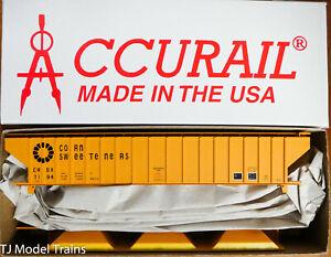 Accurail HO #81271 Corn Sweeteners (Rd #7184 CRDX) Pullman Standard Cov'd Hopper