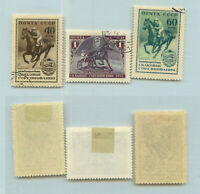 Russia USSR ☭ 1956 SC 1789-1791 Z 1764-1766 used. rtb3873