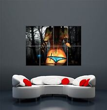SEXY GOTHIC GIRL GIANT WALL ART PRINT POSTER PICTURE WA158