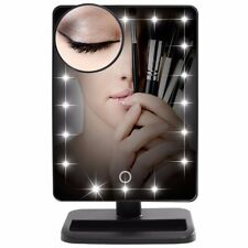 Lifewit Makeup Mirror with LED Lights Vanity Mirror with 10x Magnifying Mirror