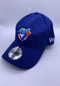 Toronto Blue Jays New Era 49FORTY Blue Hat Fitted Cap Sz 7 3/8 Large $31.99 NEW