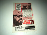 HELL'S ANGELS 69 Vintage Movie Pressbook 1969 Motorcycle Gang Bikers Tom Stern