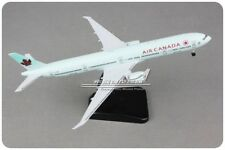 19CM Solid AIR CANADA BOEING 777-300ER Passenger Airplane Plane Diecast Model