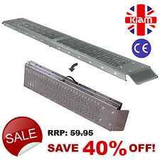 TWO Folding RAMPS 1.8m steel MOBILITY SCOOTER WHEELCHAIR RAMP