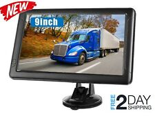 """9""""Gps Semi Truck Commercial Driver Accessories Navigation System Trucker"""
