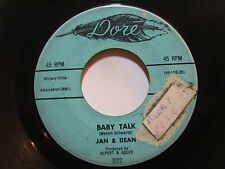 Jan & Dean - Baby Talk/ Jeanette, Get Your Hair Done - Rock 45
