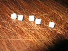 5 x 9 Tooth White Pinion Piste War for Scalextric & Other SLOT CARS w8100