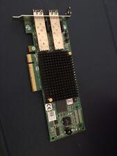 Dell R7WP7 Emulex LPE12002 Dual Port 8GB Fibre Channel HBA Card Low Profile