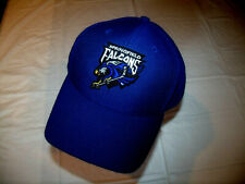 Springfield Falcons Ahl All Blue Hat Twins Enterprise Adult Adjustable 15% Wool