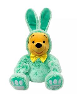 Disney Store Winnie the Pooh Plush Easter Bunny